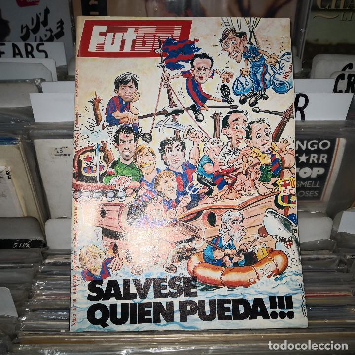 REVISTA FUTGOL : SALVESE QUIEN PUEDA ( BARÇA, ,NUM 15 1988 (Coleccionismo Deportivo - Revistas y Periódicos - otros Fútbol)