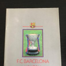 Coleccionismo deportivo: F.C.B. FUTBOL CLUB BARCELONA BARÇA MEMORIA 1984 - 1985 - COPA LIGA BASKET HOCKEY BALONCESTO. Lote 193913263