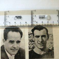 Coleccionismo deportivo: (RECORTE PRENSA)ARESO Y AEDO LLEGARON A SER INTERNACIONALES DEBUTANDO 24 ENERO 1935 FRANCIA VALENCIA. Lote 194200622