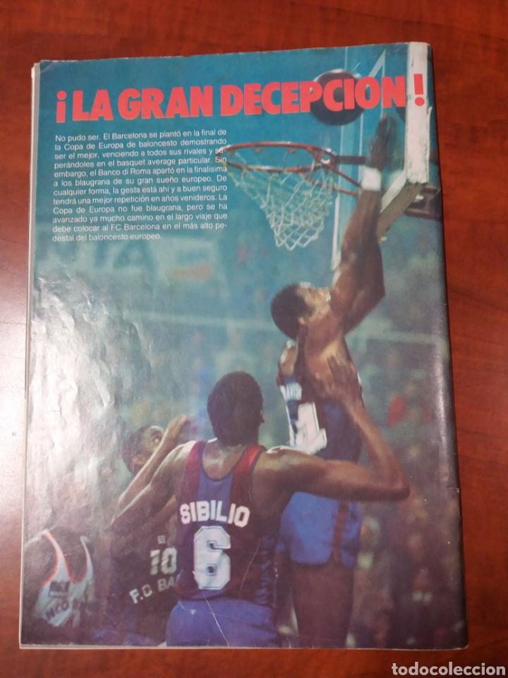 Coleccionismo deportivo: Revista Barça 1984 - Foto 2 - 194242915
