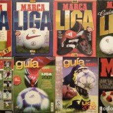 Coleccionismo deportivo: LIGA DE FÚTBOL PROFESIONAL (LFP) - LOTE DE 14 GUÍAS DE ''MARCA'' (1996-97 A 2011-2012). Lote 194255030