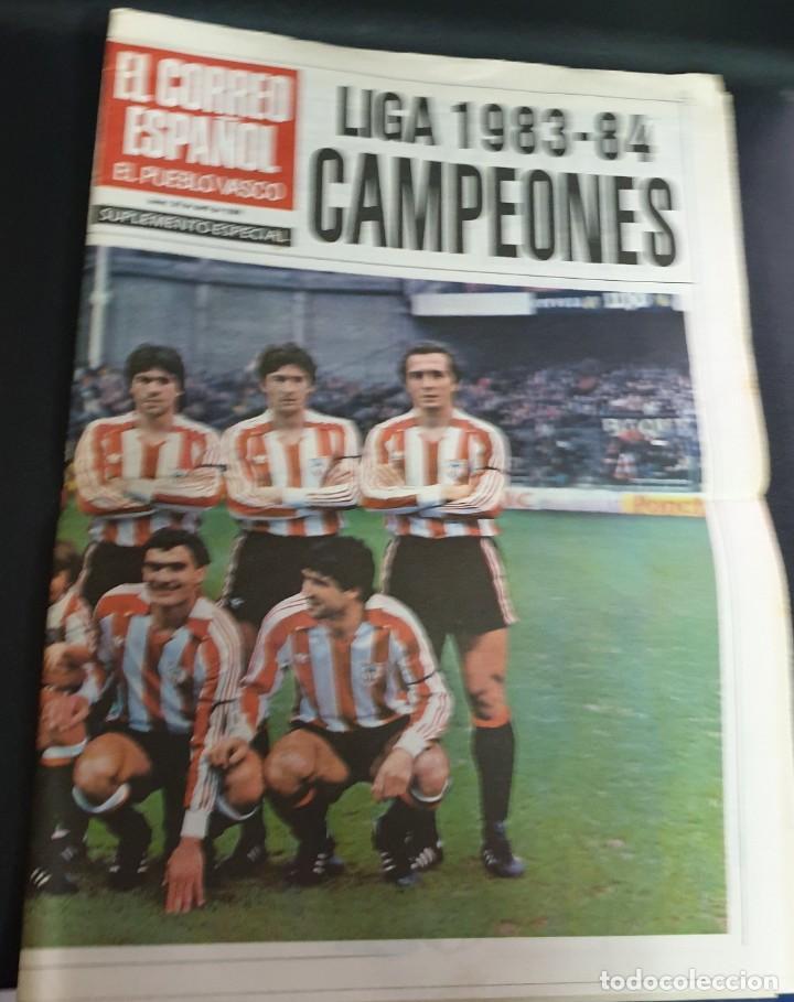 EL CORREO ESPAÑOL LIGA 1983-84 CAMPEONES 24 PÁGINAS (Coleccionismo Deportivo - Revistas y Periódicos - otros Fútbol)