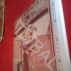 Coleccionismo deportivo: TUBAL SEVILLA BETIS OIGA REVISTA 100 1956 U6. Lote 194494553