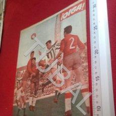 Coleccionismo deportivo: TUBAL BETIS SEVILLA OIGA REVISTA 314 1960 VICTORIANO VALENCIA DERBI SEVILLANO U6. Lote 194496656