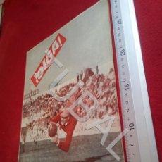 Coleccionismo deportivo: TUBAL BETIS SEVILLA OIGA REVISTA 106 1956 LANDETE ANTONIO VERA U6. Lote 194498501