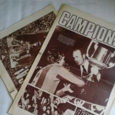 Coleccionismo deportivo: LOTE DE DOS DIARIOS DICEN... FINAL COPA DEL REY 1978 - ULTIMO TITULO DE J.CRUYFF JUGADOR Y CAPITAN.. Lote 194584672