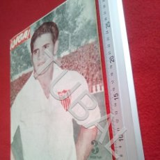 Collectionnisme sportif: TUBAL BETIS SEVILLA OIGA REVISTA 140 1956 TAUROMAQUIA CINE U6. Lote 194606833