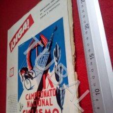 Coleccionismo deportivo: TUBAL BETIS SEVILLA OIGA REVISTA 134 1956 TAUROMAQUIA CINE U6. Lote 194607038