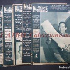 Coleccionismo deportivo: 8 REVISTAS BARÇA - AÑOS 1960 - BARCELONA - VER FOTOS ADICIONALES. Lote 194614328