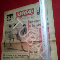 Coleccionismo deportivo: TUBAL BETIS SEVILLA OIGA 87 REVISTA DE FUTBOL 1955. Lote 194614568