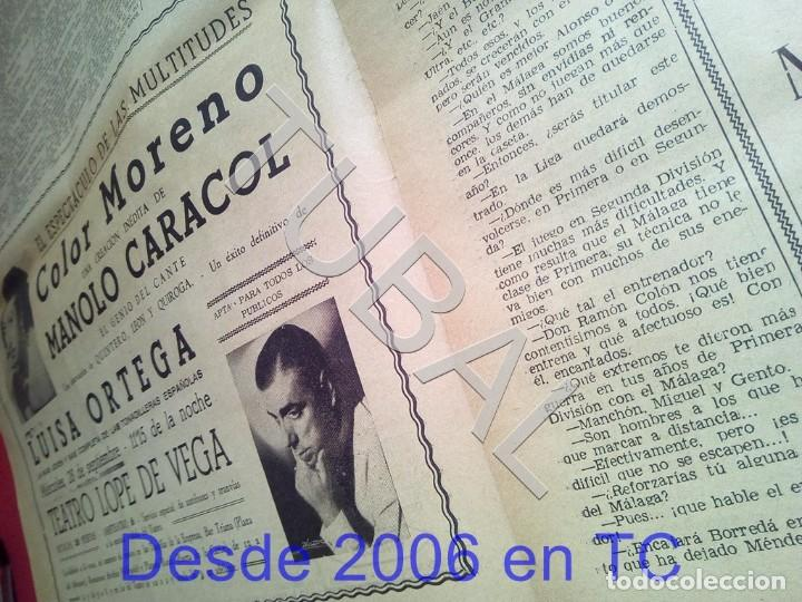Coleccionismo deportivo: TUBAL BETIS SEVILLA OIGA 87 REVISTA DE FUTBOL 1955 - Foto 4 - 194614568