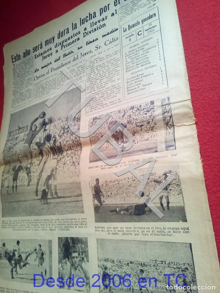 Coleccionismo deportivo: TUBAL BETIS SEVILLA OIGA 87 REVISTA DE FUTBOL 1955 - Foto 5 - 194614568