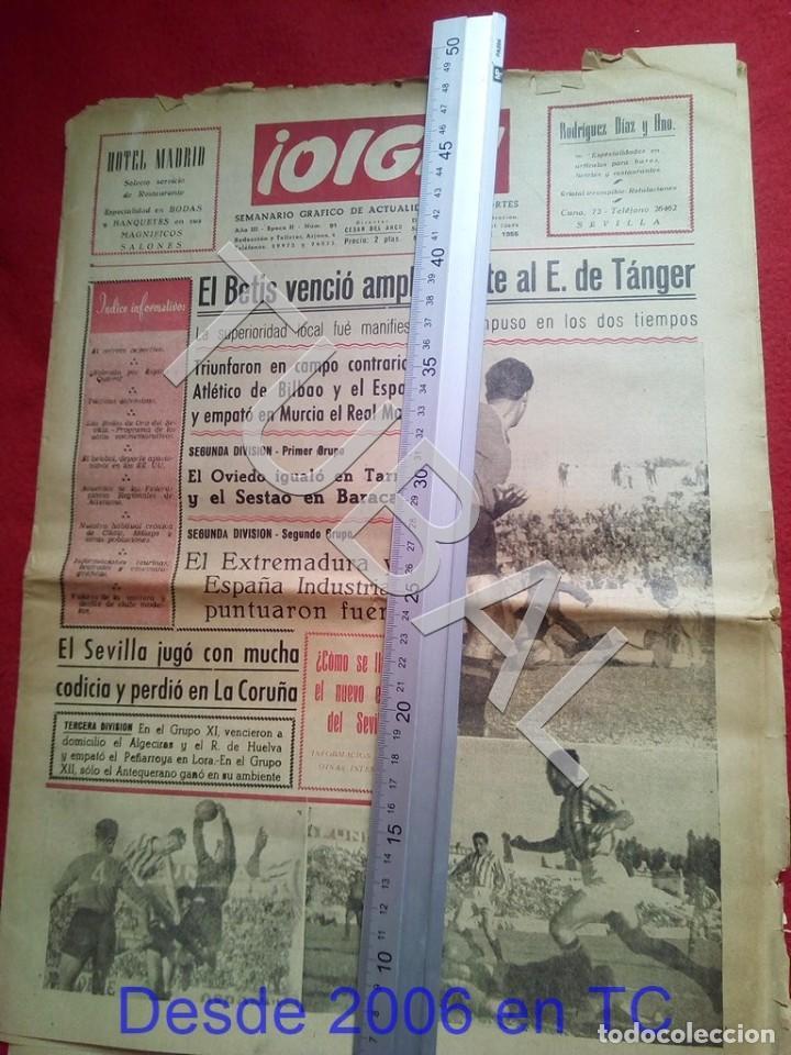 TUBAL BETIS SEVILLA OIGA 91 REVISTA DE FUTBOL 1955 (Coleccionismo Deportivo - Revistas y Periódicos - otros Fútbol)