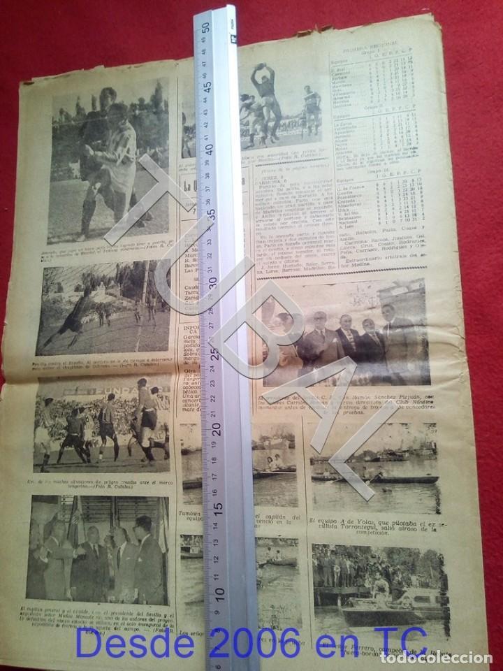 Coleccionismo deportivo: TUBAL BETIS SEVILLA OIGA 91 REVISTA DE FUTBOL 1955 - Foto 4 - 194614758