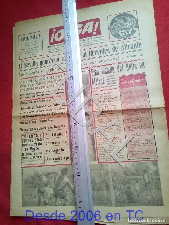 TUBAL BETIS SEVILLA OIGA 92 REVISTA DE FUTBOL 1955 (Coleccionismo Deportivo - Revistas y Periódicos - otros Fútbol)