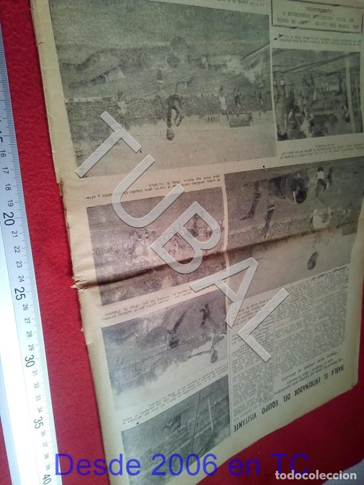 Coleccionismo deportivo: TUBAL BETIS SEVILLA OIGA 92 REVISTA DE FUTBOL 1955 - Foto 4 - 194615007