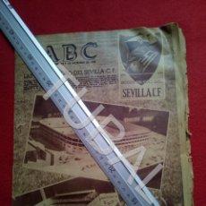 Coleccionismo deportivo: TUBAL LAS BODAS DE ORO DEL SEVILLA C F ABC 9 DICIEMBRE 1955 U6. Lote 194617993