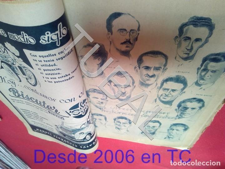 Coleccionismo deportivo: TUBAL LAS BODAS DE ORO DEL SEVILLA C F ABC 9 DICIEMBRE 1955 U6 - Foto 3 - 194617993