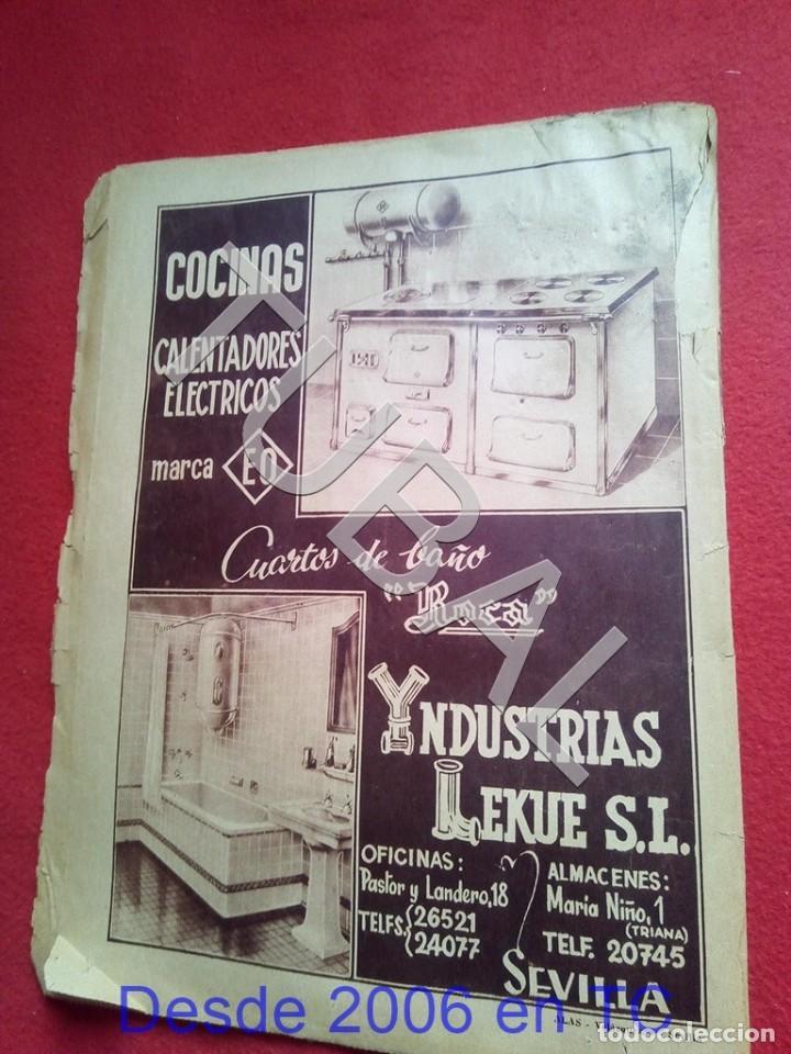 Coleccionismo deportivo: TUBAL LAS BODAS DE ORO DEL SEVILLA C F ABC 9 DICIEMBRE 1955 U6 - Foto 4 - 194617993