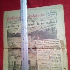 Coleccionismo deportivo: TUBAL INUNDACIONES SEVILLA CORREO DE ANDALUCIA 29 NOVIEMBRE 1961. Lote 194618811
