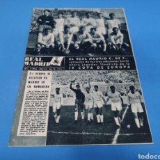 Coleccionismo deportivo: REVISTA REAL MADRID AÑO 1959 NÚMERO 107. Lote 194668737