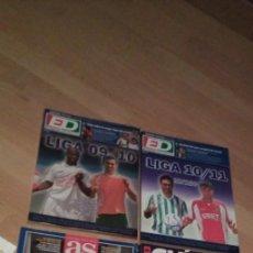 Coleccionismo deportivo: 4 EJEMPLARES DE GUIA DE LA LIGA DE ESTADIO DEPORTIVO ,2, 1 DE AS Y OTRA DE MARCA. Lote 194724587