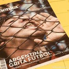 Coleccionismo deportivo: REVISTA PANENKA 25 - ARGENTINA GRITA FUTBOL -. Lote 194743962