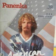 Coleccionismo deportivo: REVISTA PANENKA 28 - AMERICAN DREAMS -. Lote 194743991