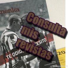 Coleccionismo deportivo: REVISTA PANENKA 29 - TE ODIO, TE NECESITO -. Lote 194744032