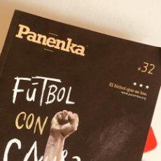 Coleccionismo deportivo: REVISTA PANENKA 32 - FUTBOL CON CAUSA -. Lote 194744098