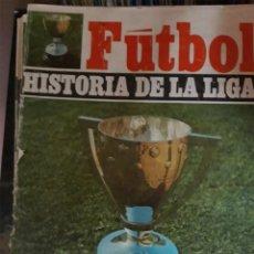 Coleccionismo deportivo: REVISTAS TIPO FASCÍCULOS DE LA HISTORIA DE LA LIGA ESPAÑOLA. Lote 194757520