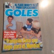 Coleccionismo deportivo: REVISTA GOLES - NUMERO 1815 - MARADONA EN LA TAPA -. Lote 194779860