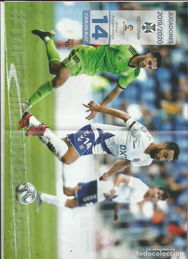 Coleccionismo deportivo: Bota Heliodoro Nº 161.CD Tenerife-Girona CF.19/1/20.Carlos Ruiz. - Foto 2 - 194891712