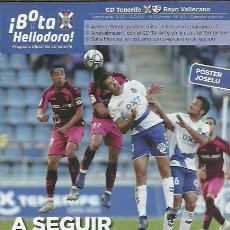 Coleccionismo deportivo: BOTA HELIODORO Nº 165.CD TENERIFE-RAYO VALLECANO.16/2/20.JOSELU.. Lote 194891972
