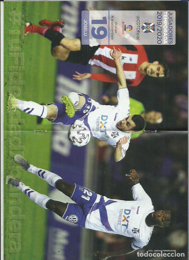 Coleccionismo deportivo: Bota Heliodoro Nº 165.CD Tenerife-Rayo Vallecano.16/2/20.Joselu. - Foto 2 - 194891972
