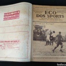 Coleccionismo deportivo: RARO LIBRO ECO DOS ESPORTS 1927, SEGUNDO SEMESTRE, REVISTA DE FÚTBOL PORTUGAL,. Lote 194926675