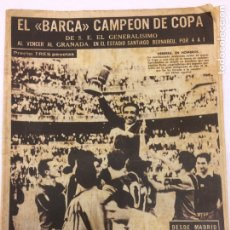 Coleccionismo deportivo: BARÇA CAMPEÓN COPA 1959 - LEAN-. Lote 194930621