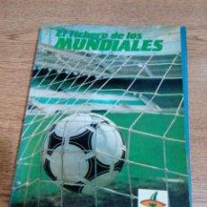 Coleccionismo deportivo: EL FICHERO DE LOS MUNDIALES - 1930 HASTA MEXICO 86 - COMPLETO - EDITADO POR LA VERDAD - VER FOTOS. Lote 194931312