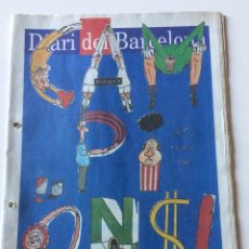 Coleccionismo deportivo: BARÇA CAMPIÓ LLIGA 90/91 - DIARI DD BARCELONA-. Lote 194937215