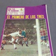Coleccionismo deportivo: REVISTA REAL MADRID N 275 COPA EUROPA DYNAMO KIEV POSTER EMILIANO. Lote 195074270