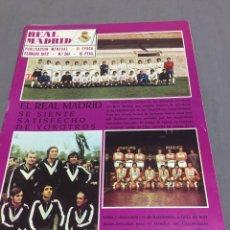 Coleccionismo deportivo: REVISTA REAL MADRID N 261 POSTER DE TOURIÑO. Lote 195074911