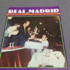Coleccionismo deportivo: REVISTA REAL MADRID N 362 CAMPEONES DE COPA R.MADRID V. CASTILLA. Lote 195075076