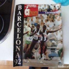 Coleccionismo deportivo: EL PERIÓDICO ÁLBUM BARCELONA 92. Lote 195077331