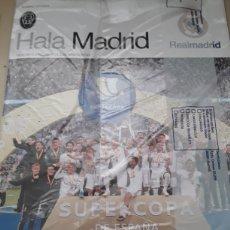 Coleccionismo deportivo: REVISTA HALA MADRID N°73 + RESUMEN DE LA MEMORIA ANUAL 2018-2019 / INCLUYE POSTER. Lote 195083490