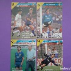 Coleccionismo deportivo: LOTE 12 FASCICULOS HISTORIA VIVA DEL VALENCIA 1987. Lote 195118552