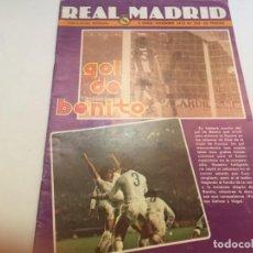 Coleccionismo deportivo: REVISTA REAL MADRID Nº 355 DIC 1979 REAL MADRID OPORTO COPA EUROPA. Lote 195159147