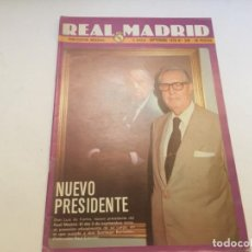 Coleccionismo deportivo: REVISTA REAL MADRID Nº 340 SEPT 1978 MANCHESTER REAL MADRID. Lote 195159235