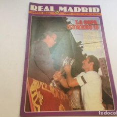 Coleccionismo deportivo: REVISTA REAL MADRID Nº 350 JULIO 1979 CAMPEON LIGA FINAL COPA. Lote 195159516