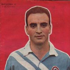 Coleccionismo deportivo: REVISTA DICEN - AÑO V Nº 208 1956 PORTADA EL JUGADOR DEL C.D. CONDAL BASORA II. Lote 195198345