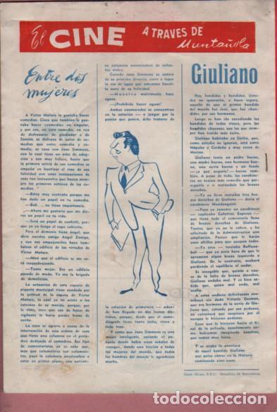 Coleccionismo deportivo: REVISTA DICEN - AÑO V Nº 208 1956 PORTADA EL JUGADOR DEL C.D. CONDAL BASORA II - Foto 2 - 195198345